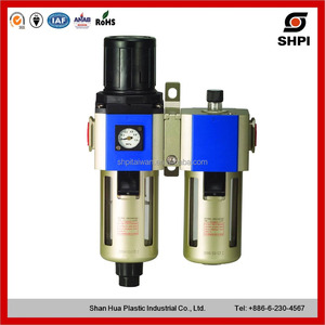 Air Filter pressure Regulator Lubricactor Combination GFCS Series GFCS300