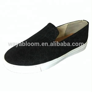 Daily slip on light geniune leather flat fashion Ladies Lady women casual flat dress shoes