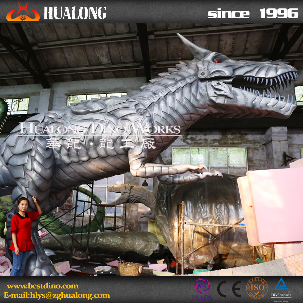 New design electronic mechanical 3d dinosaur for sale