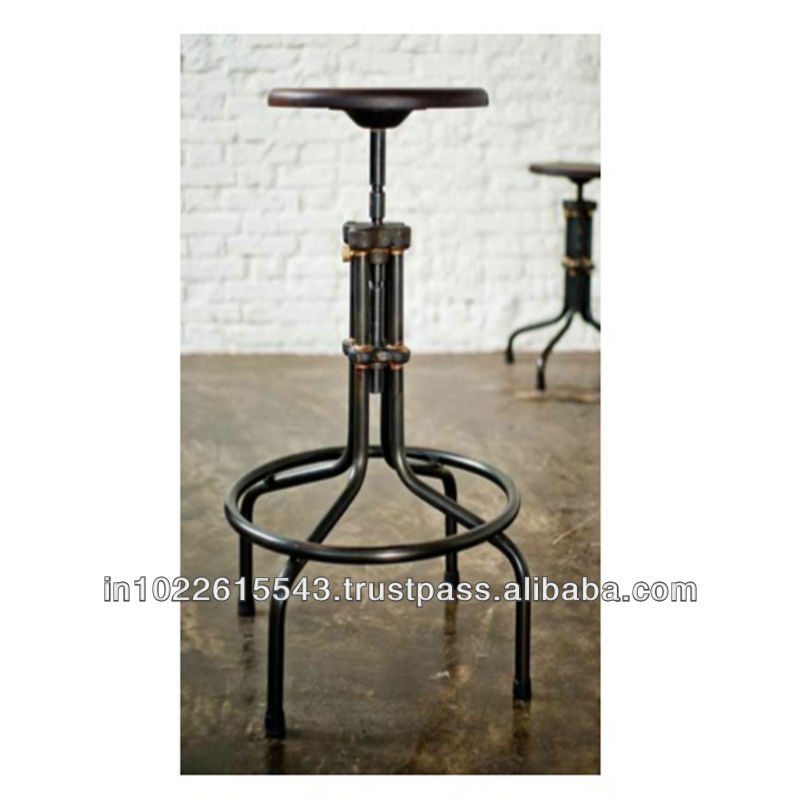 INDUSTRIAL STOOL METAL STOOL ROUND