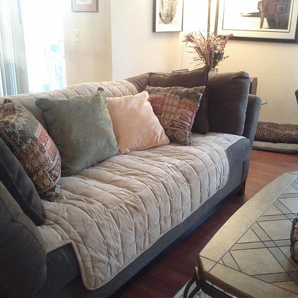 Non Slip Fabric Sofa Cover Design
