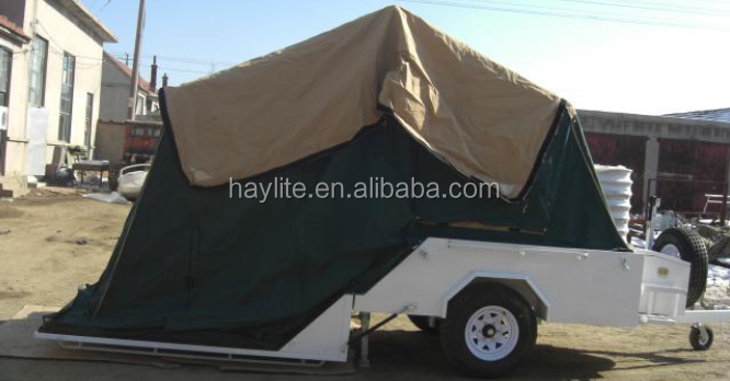 Di lusso pieghevole camper roulotte con tela hlt 04 tenda per la ...