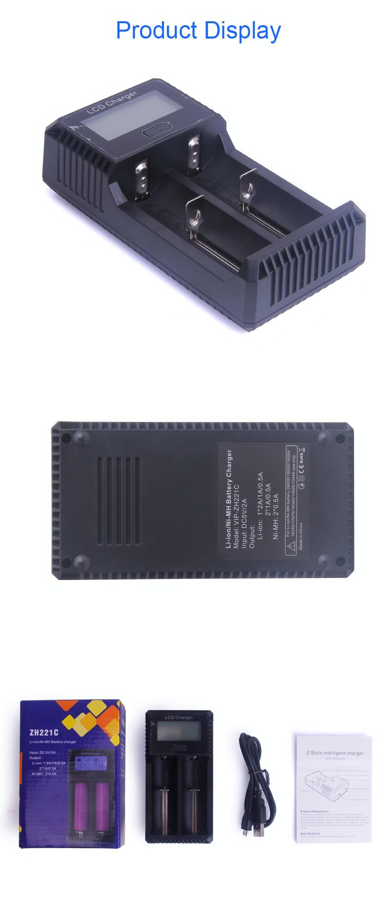 Rifornimento Della Fabbrica cinese AA/AAA Li-MH Li-Cd Batteria Al Litio Della Batteria Li-Ion Charger OEM ODM Supportati