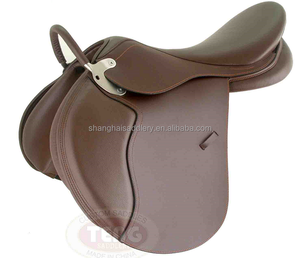 synthetic treeless saddle with good price