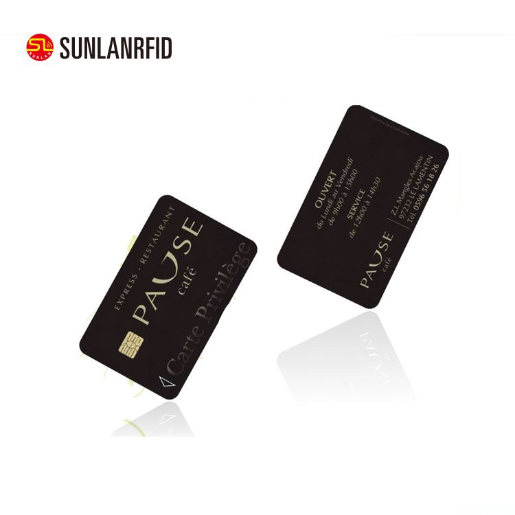 wholesale PVC Contact Smart Credit EMV Chip Card