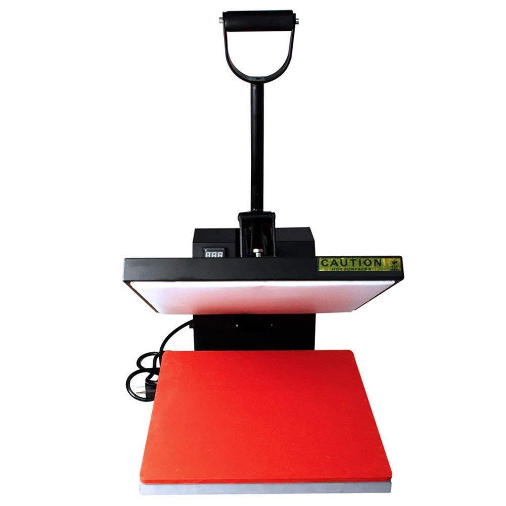 "PlanetFlame Classical Digital Panel Clamshell Heat Press Machine, T-Shirt Sublimation Plain Heat Transfer Presses Printing Machine 15"" x 15"" (Mix Color/Model Wholesale)"
