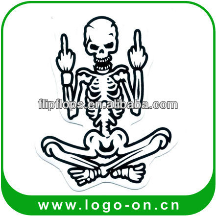 2015 Sedex Audited Factory Promotional Cartoon Bike Sticker Buy