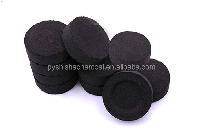 10pc*8rolls/box 40mm electronic shisha wood charcoal market