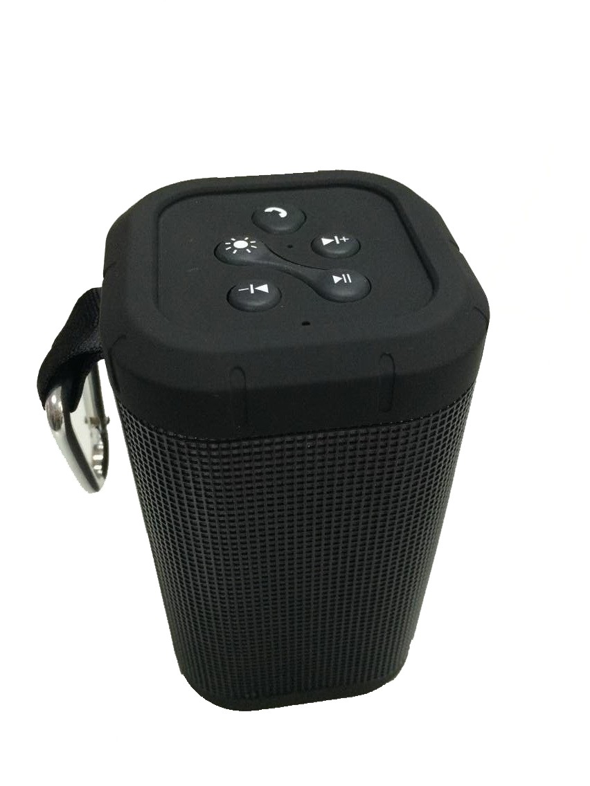Professional factory supply 2.1 portable waterproof Bluetooth Speaker with led light for outdoor sport