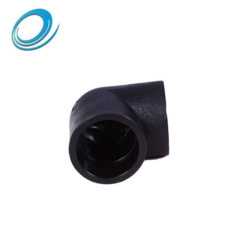 Best HDPE pipe fittings - 90 deg straight elbow made in China