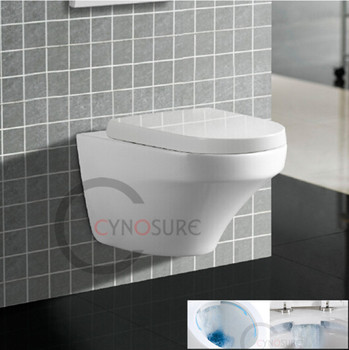 CY3011 NEW DESIGN Round WALL HUNG TOILET Bathroom Sanitary Ware RIMLESS  Toilet