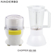 OEM factory price electric food chopper for meat and vegetable