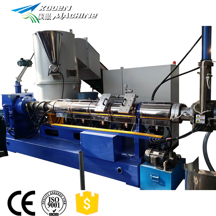 Plastic recycling & pelletiseren machines
