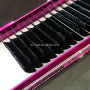 CChina OEM good quality handmade implanted strip lashes for the Beauty Parlor/mink fur extention individual implanted eyelashes