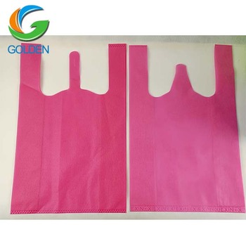 www-xxx non-woven bag promotional nonwoven bag W cut non woven bag machine making