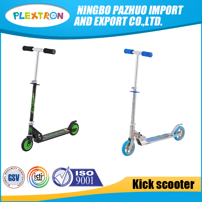 Outdoor Sports 2 Big Wheel Push Aluminum Foot Pedal China Stunt Scooter