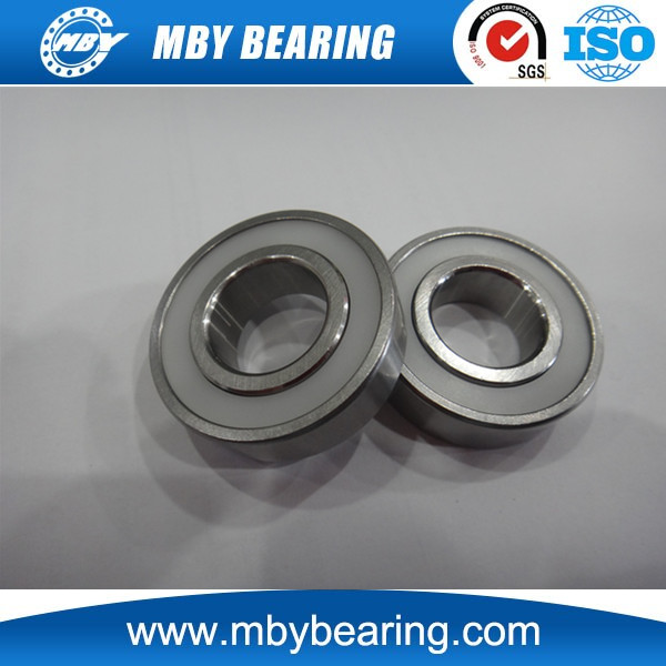 high speed hybrid ceramic bearings 6011 6012 6013 Stainless Steel Ring Plastic Seals Bearing