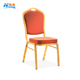 wholesale gold stacking metal aluminum hotel banquet chair wedding