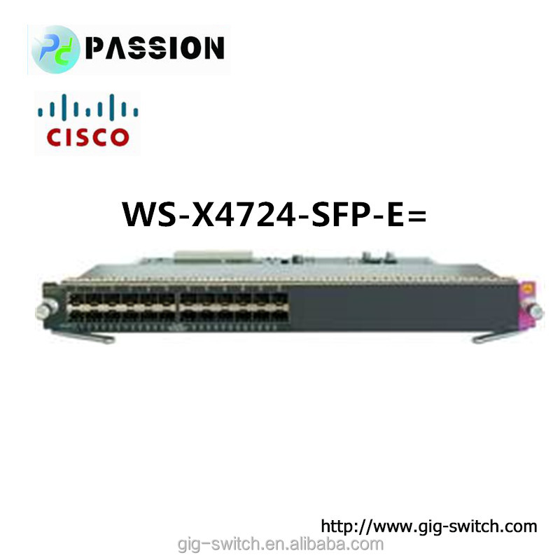 Cisco 4500e series WS-X4724-SFP-E= sfp switch module