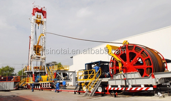 Zj30 Hybrid Coiled Tubing Drilling Rig From China Supplier