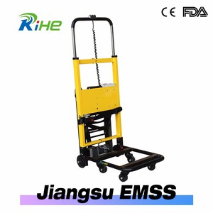 powered electric stair climbing trolley