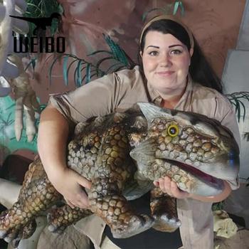 New Cartoon Animal 3D Dinosaurs Eyes Large Wall Stickers ...  |Baby Dinosaur Big Eyes
