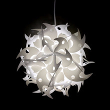Modern Ceiling Pendant Contemporary IQ lights Jigsaw Puzzle Ze Lamp Light Shade M,L,XL Jigsaw Puzzle Lamp