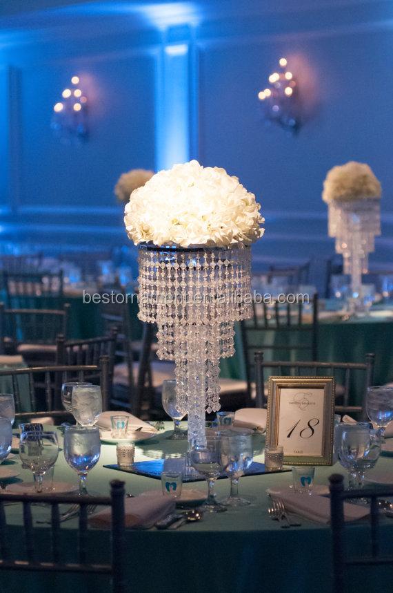Elegant Glamorous Chandelier Centerpiece With Riser Buy