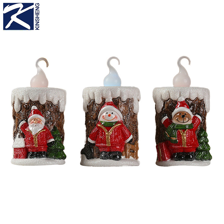 Custom terrecotta christmas decoration candle,decorative candle