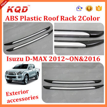 High quality abs plastic Car roof rack / roof rails for 2015ISUZU d max