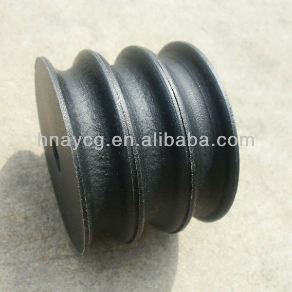 Self-lubricating Polyethylene Plastic Sheave for Oil Drilling Rig