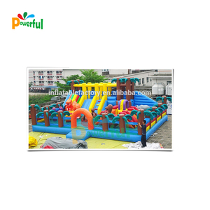 inflatable bouncy castle outdoor playground for children