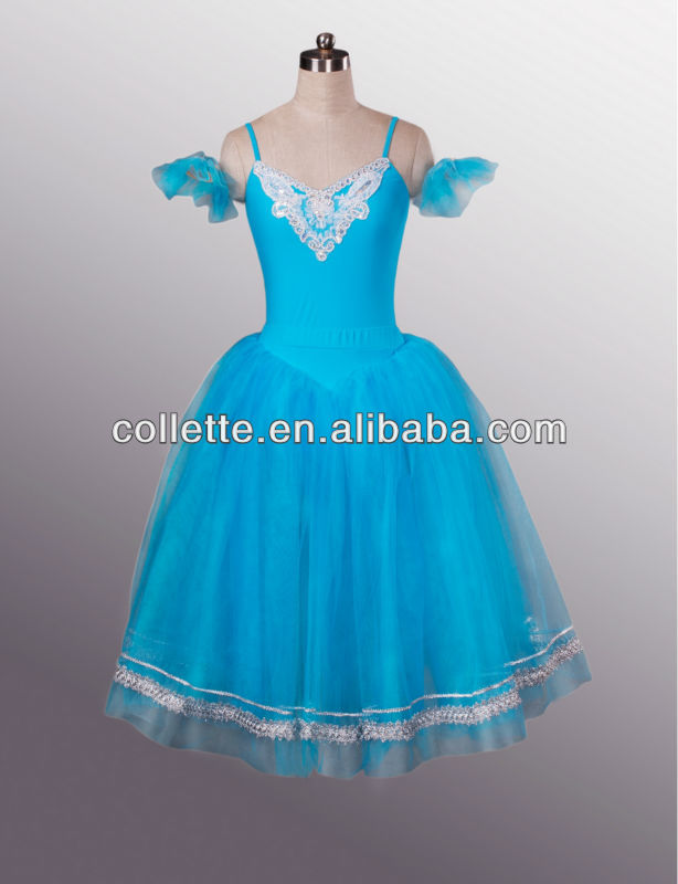 MBL1068C !! New !!hot selling countryside girls ballet dress/leotard with soft tutu adult dress