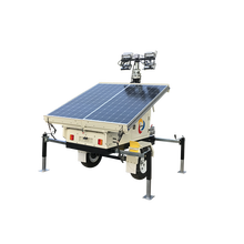 Hohe mast 4*100 w LED solar mobile <span class=keywords><strong>licht</strong></span> <span class=keywords><strong>turm</strong></span>
