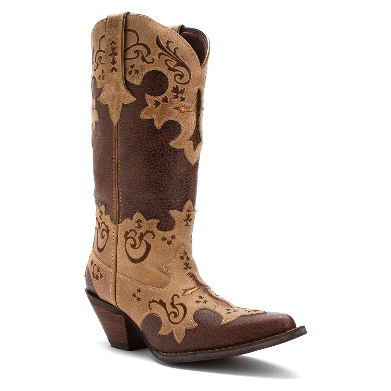 Durango Women's Crush 12-Inch Cross Overlay Boots