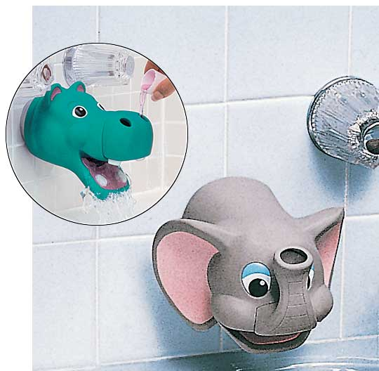 Lovely Baby Use Bathroom Elephant Spout Cover - Buy Spout Cover,Bath ...
