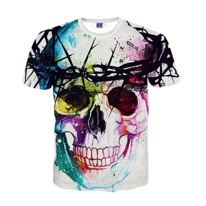 Sublimation custom t-shirt & bangkok t-shirt &sublimation t-shirt wholesale cc-074