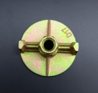 Formwork Anchor Plate / Wing Nut & Tie Rod Dia Dywidag thread nut20mm