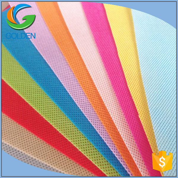 Custom colorful waterproof PP spunbond fabrics ,High Quality PP White Thermal Bonded Nonwoven Fabric for Pet/Interlining