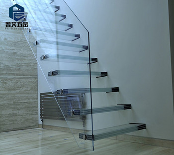 Ordinaire Modern Clear Glass Staircases/stairs
