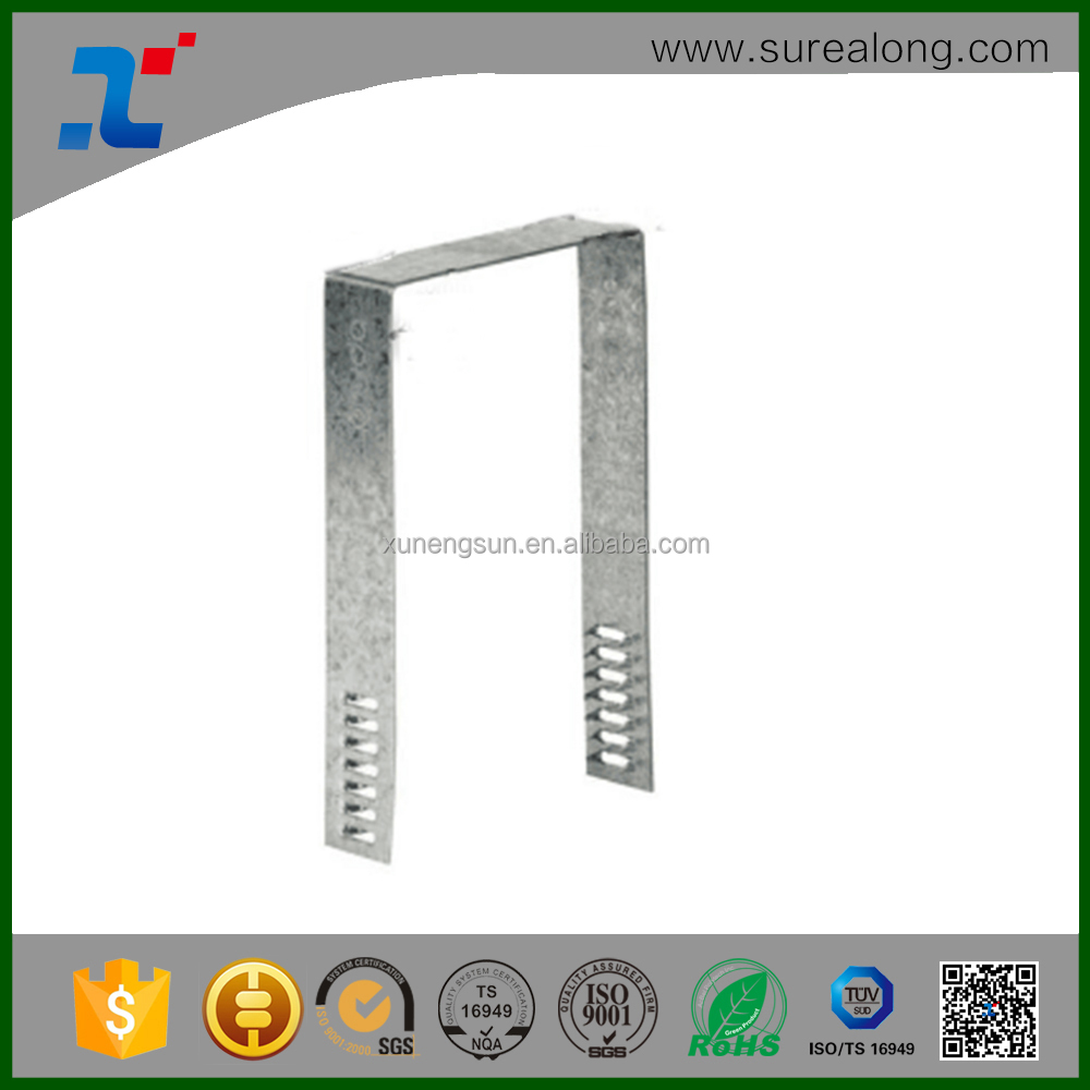 Construction Timber Frame Fastener Steel Angled Bracket
