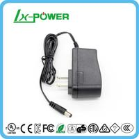 5V2A 12V1A AC DC power adapter with UL FCC CE GS ROHS REACH