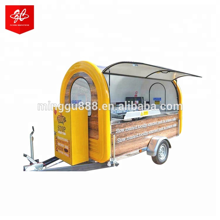 Heavy Duty Market Stall/van/truck Mobile Catering Food Trailer for sale Best Buy Street Vending Machine Hot Dog cart