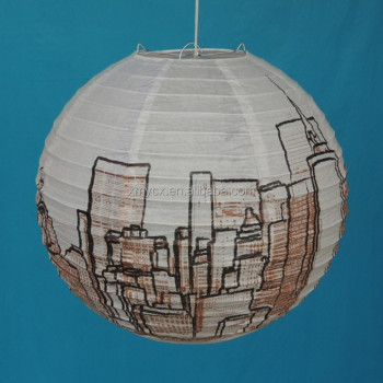 DIY Good Quality House Printing In Japanese Paper Lanterns