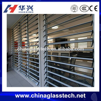 Environmental Protecting Profile New Design Aluminum Louver Window ...
