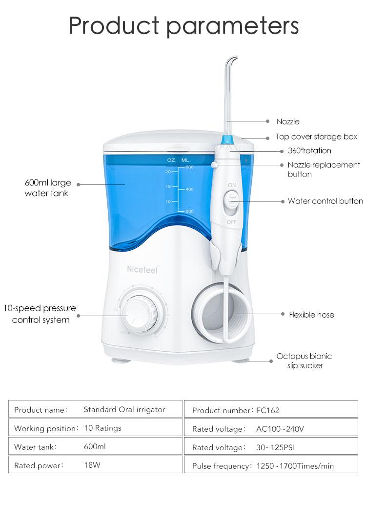 AC100-240V Dental Care Monddouche gebitsreiniging machine