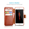 China supplier free mobile phone leather case , for iphone 7s wallet case