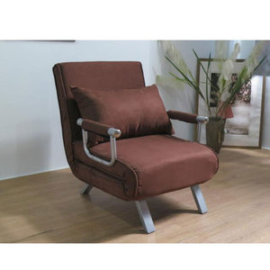Popular style top quality single folding bed recliner Sofa chair bed