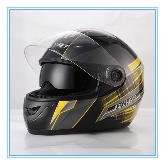 Womens custom motorcycle helmet DOT safety helmet with double visor