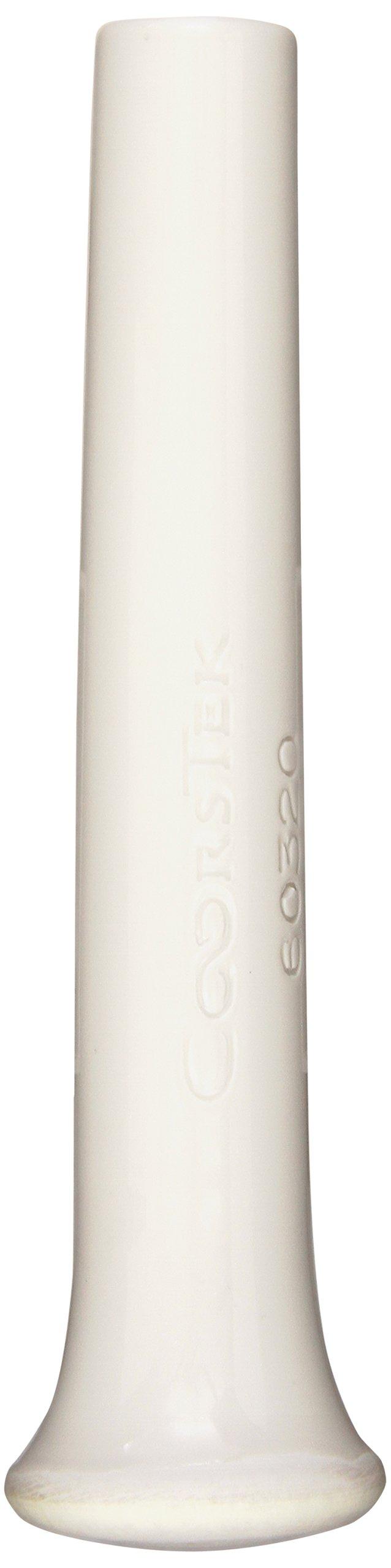 CoorsTek 60320 Porcelain Ceramic Chemical and Heat Resistant Pestle for 60319 Porcelain Mortar, 180mm Length